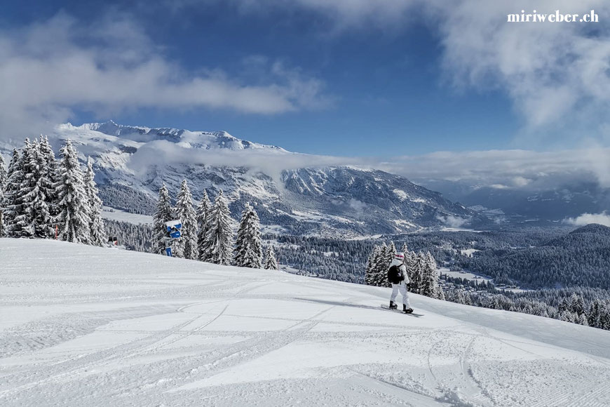 Laax Bergbahnen, Skitickets, Flims, Laax, Falera, Skigebiet, Winterferien, Familien Ferien, Seilbahn, Travel Blog Schweiz, Schweizer Travel Bloggerin, bestes Skigebiet in der Schweiz, Graubünden, Snowboarden, Schweiz, Miri Weber