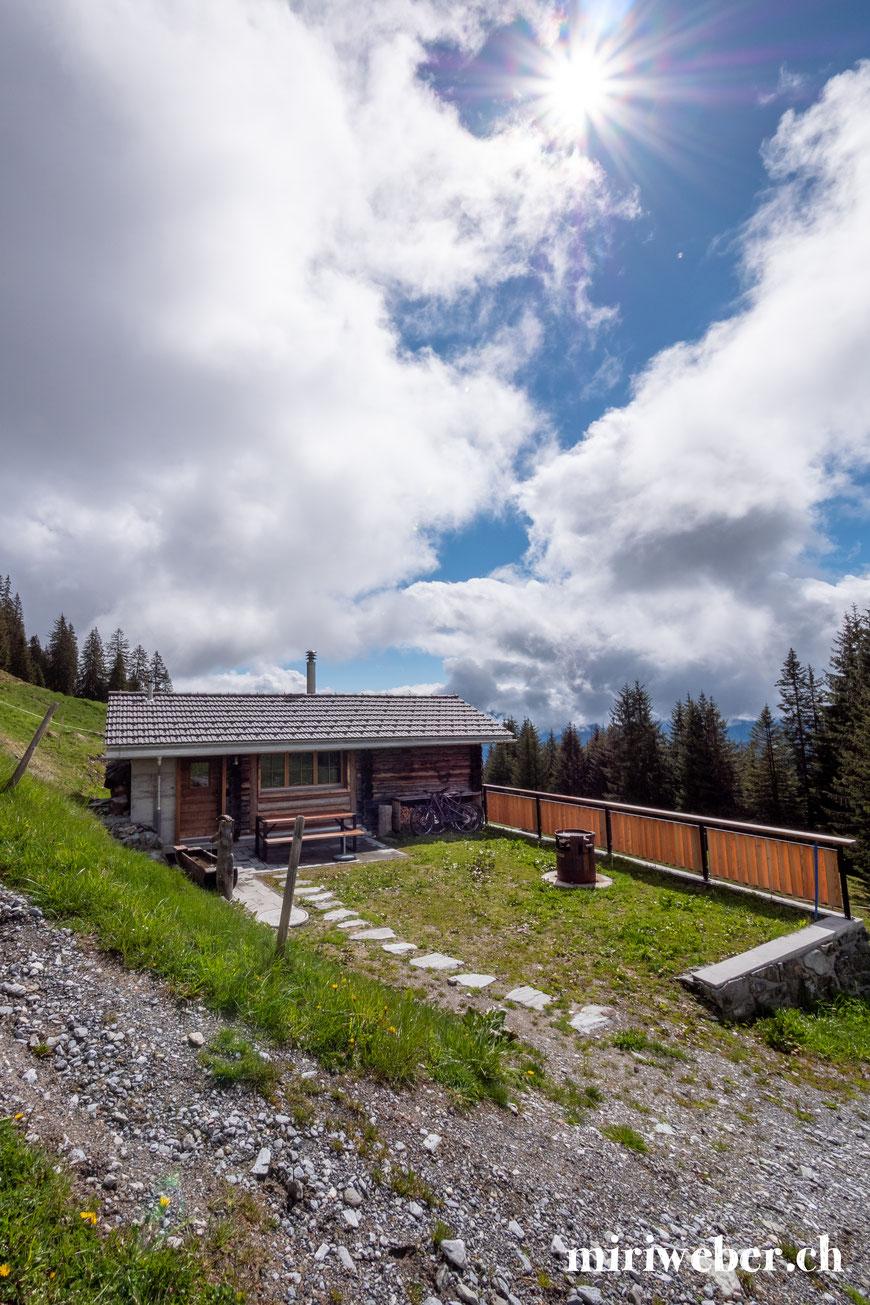 Maiensäss, Hütte zum Mieten, Flims, Laax, Falera, Graubünden, Tegia Alp Uaul