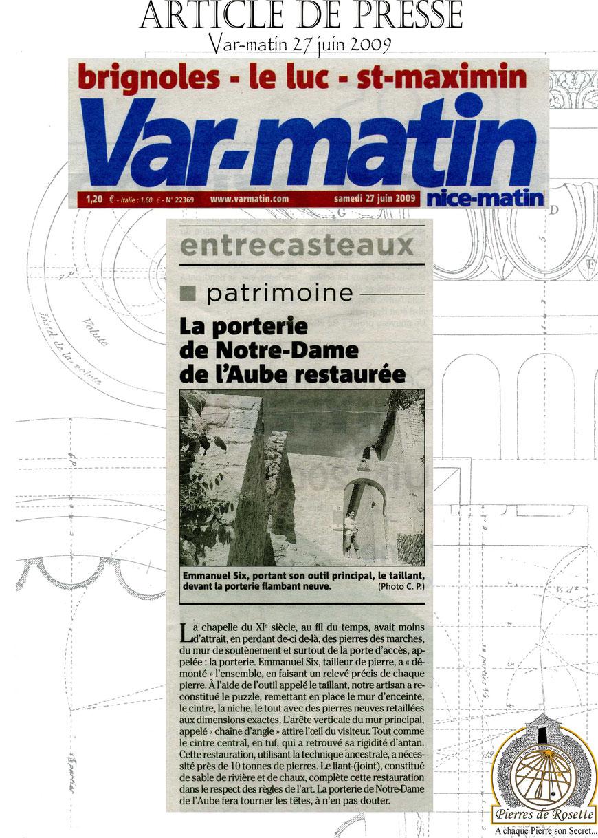 article-chapelle-entrecasteaux-restauree-var-matin-pierre-monument-historique-83-mh