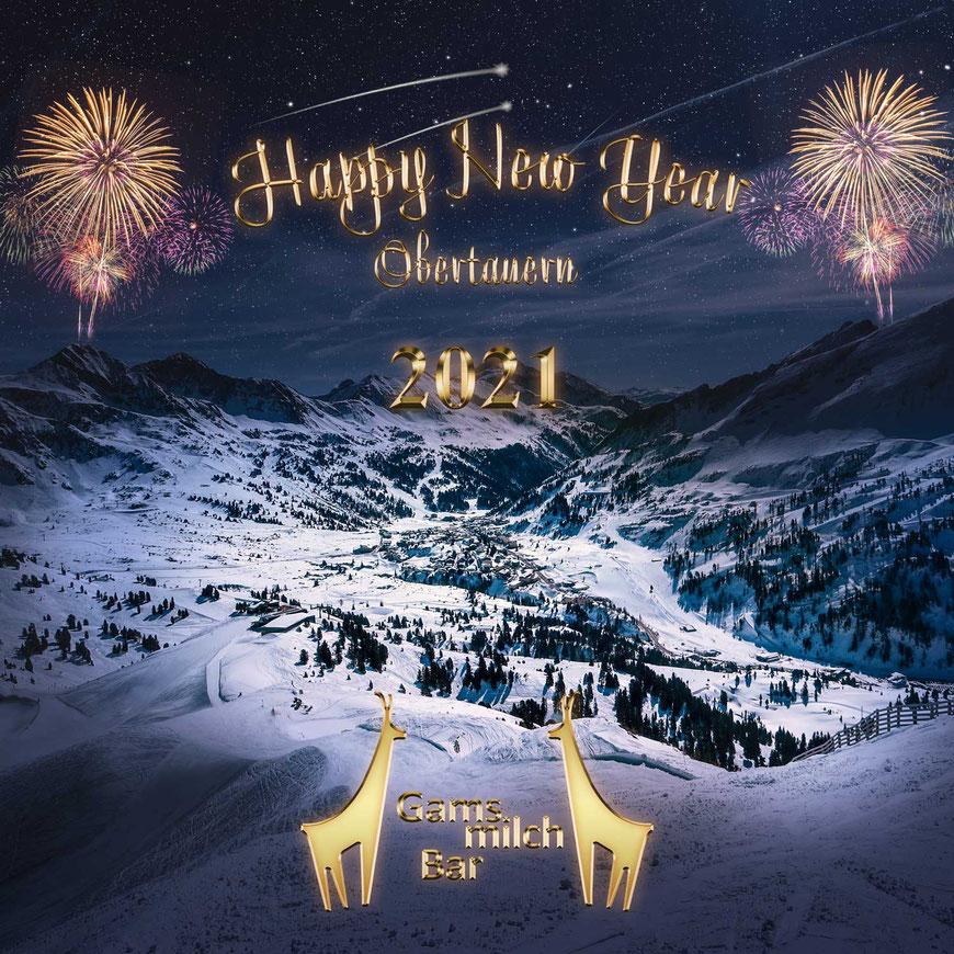 Die Gamsmilchbar wünscht ein schönes neues Jahr!