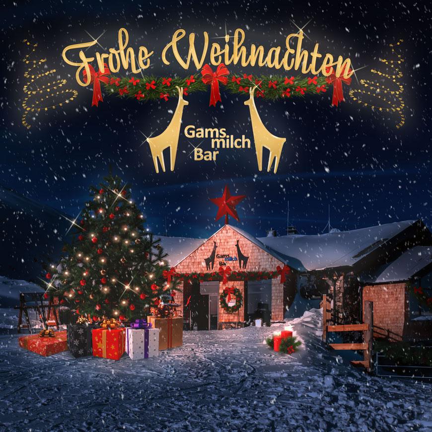 Weihnachten Gamsmilchbar