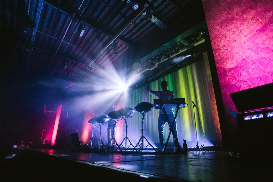 Hang Massive, Backstage, Münchne, Handpan, Concertphotograph,