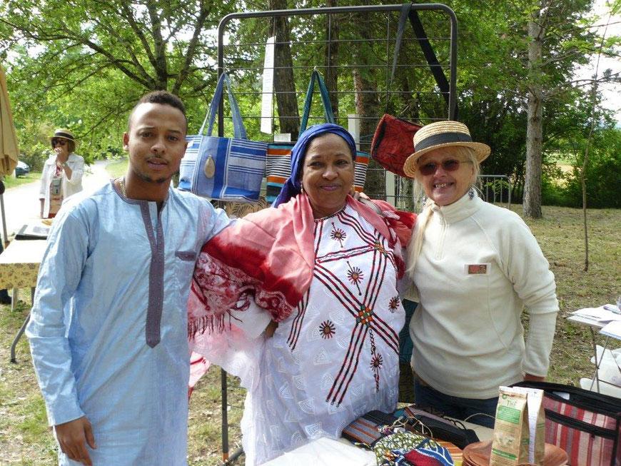 Mariama d'A.C.P. Tagayt Niger était aussi présent avec ses fils.