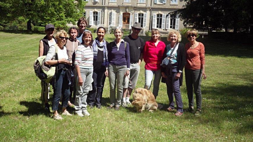 L'équipe de bénévoles de Tagayt-France au complet.