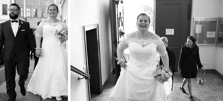 Brautpaar im Standesamt Görlitz