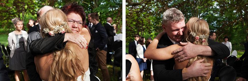 Hochzeitsgäste in Görlitz