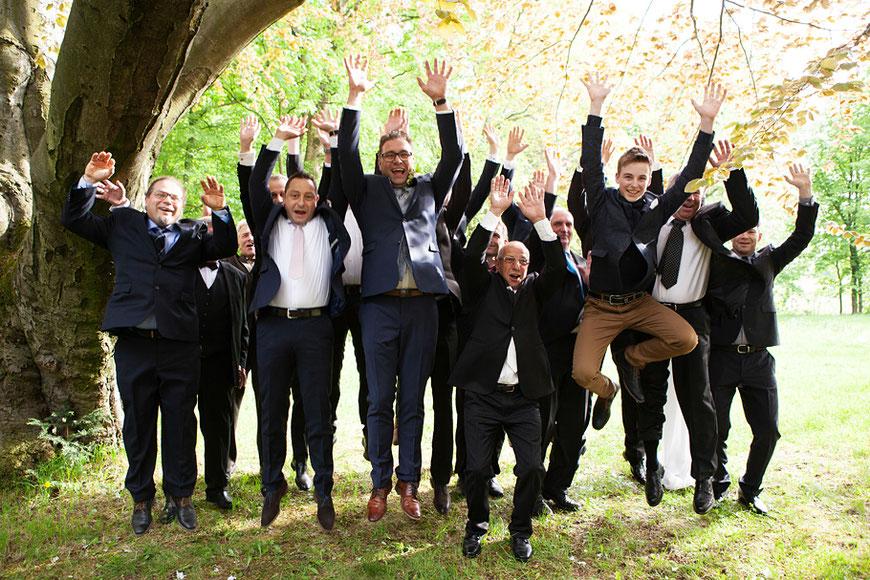 Gruppenbild auf Hochzeit in Görlitz von Martin Schneider
