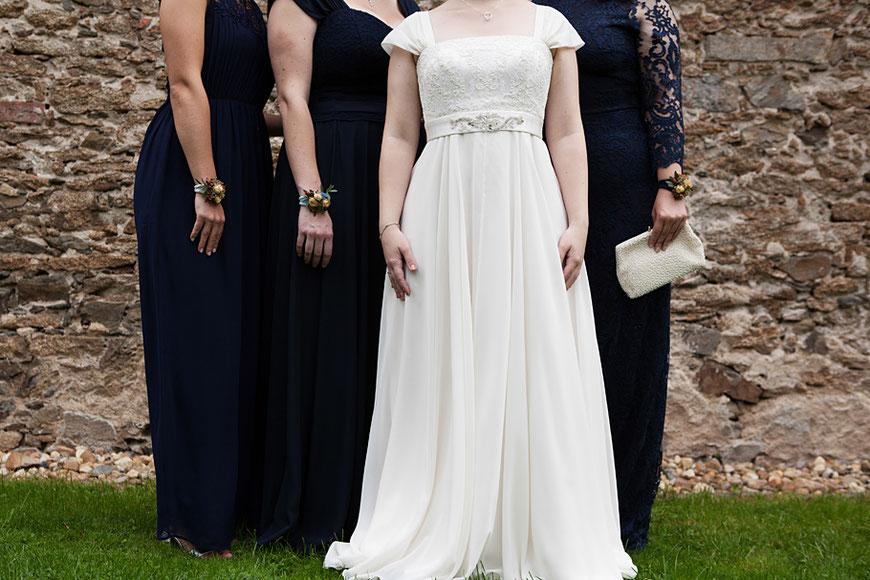 Gruppenbilder bei Hochzeit nahe Dresden