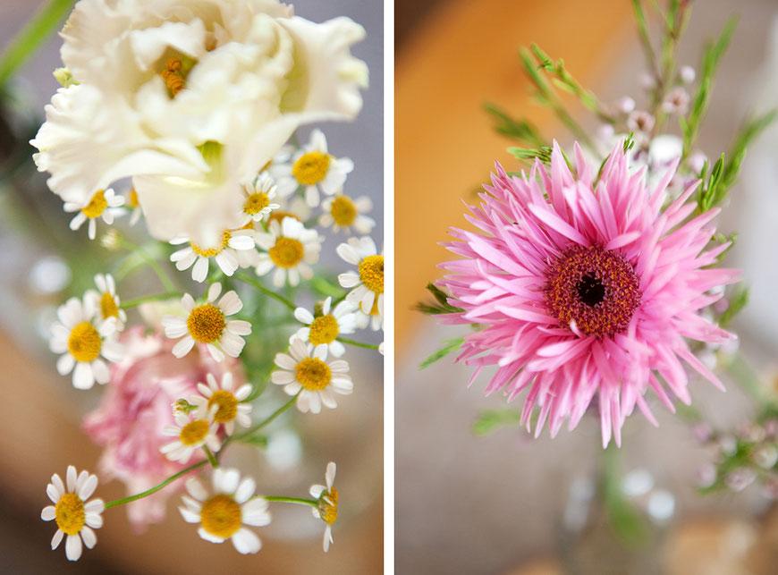 Blumen zur Hochzeit