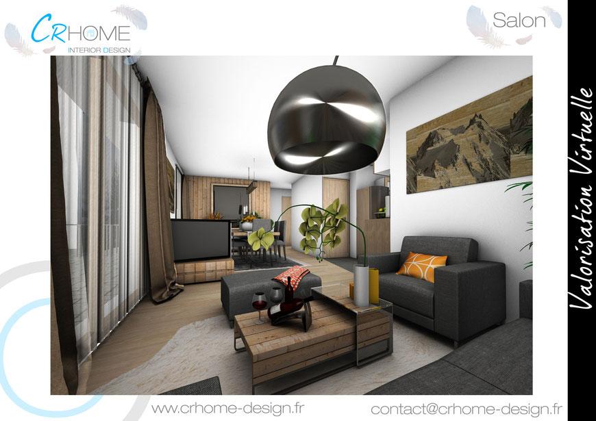 Appartement De Montagne - Crhome-Design - Architecture D'Intérieur