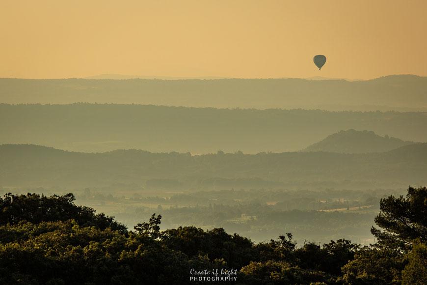 Sonnenaufgang in der Provence