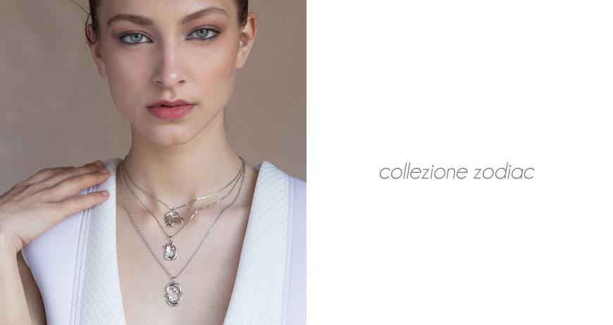 biancopunto jewels gioielli collezione zodiac segni zodiacali
