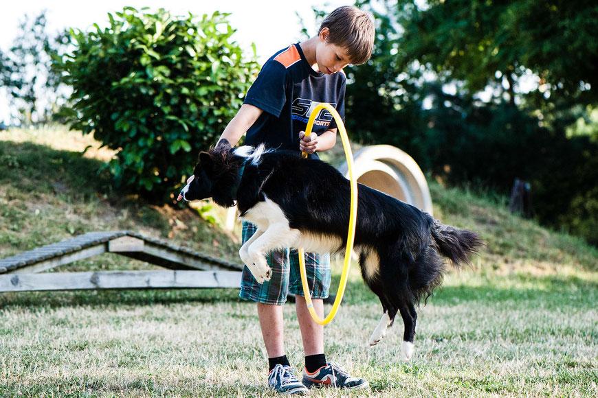 Kinderkurs in der Hundeschule GOOD DOGS