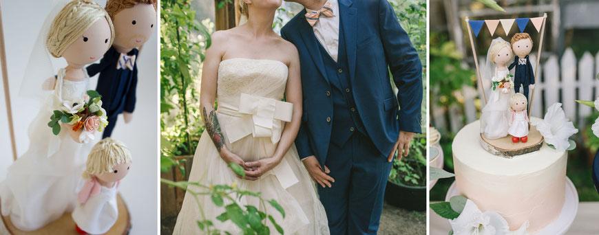 Hochzeit in der Großstadt mit urbanem Style und eine modernen Hochzeitstopping