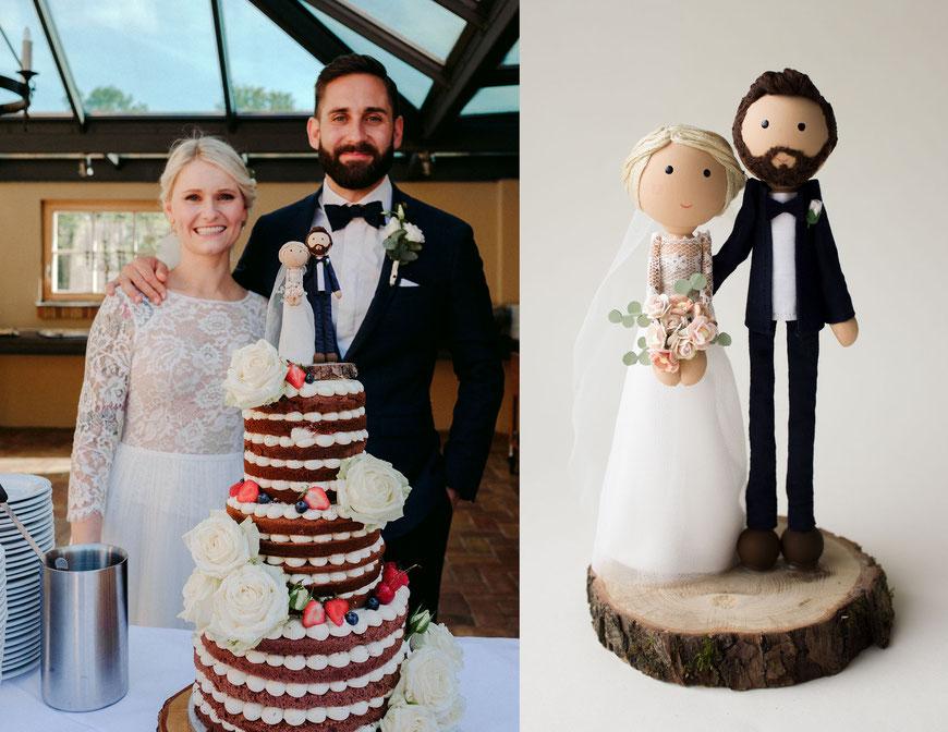 Hochzeitsfiguren Vergleich real wedding