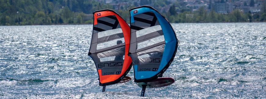 Ensis Score Orange und Blau, Der neue Ensis Wing Score