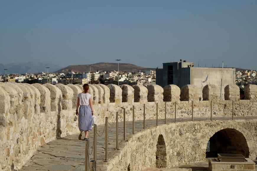 Крепость Кулес в Ираклион