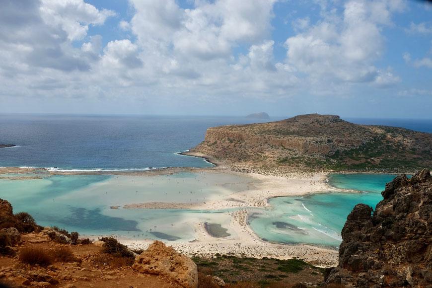 пляж Балос Крит