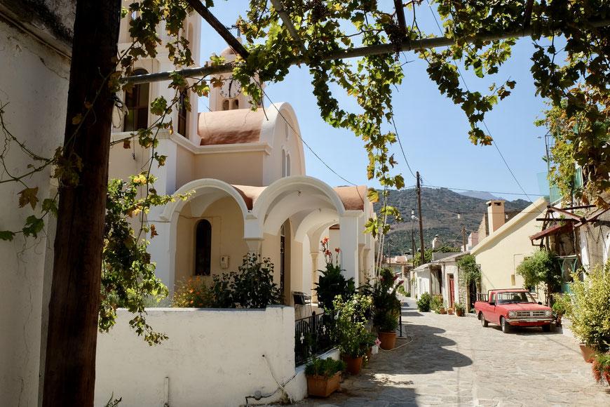 деревня Лимнес на Крите