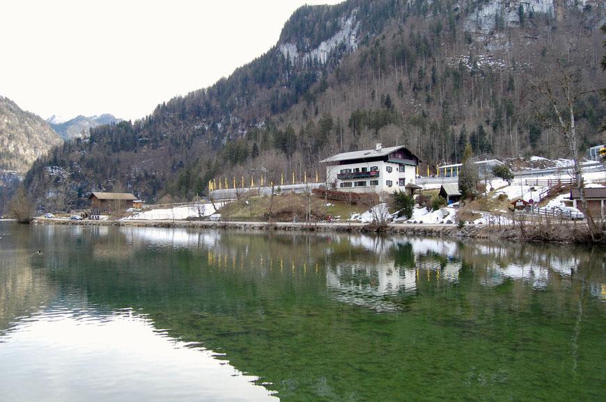 Озеро Кенигзее зимой
