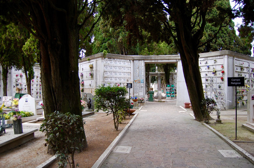 Кладбище Венеция