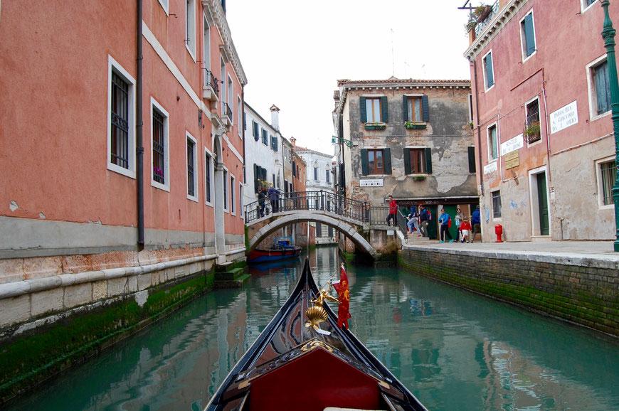 Гондола и каналы Венеции