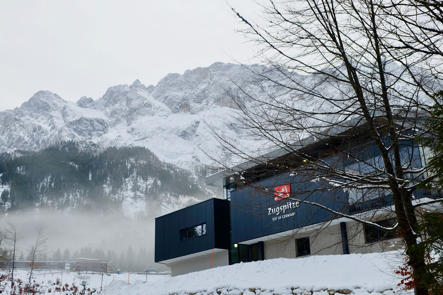 Станция фуникулера Zugspitze Seilbahn