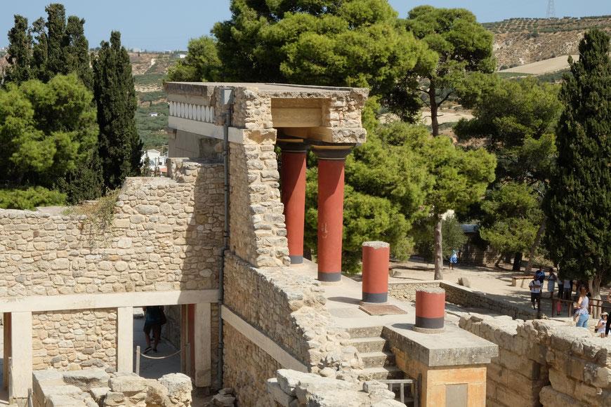 Дворец Кноссос на Крите