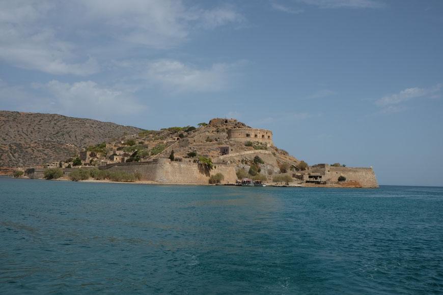остров прокаженных Спиналонга