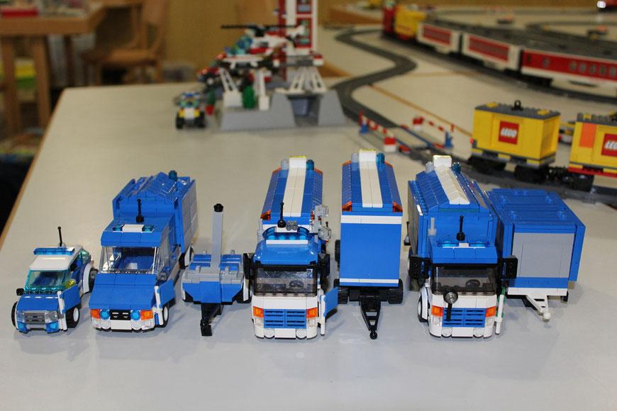 THW Fuhrpark Logistik