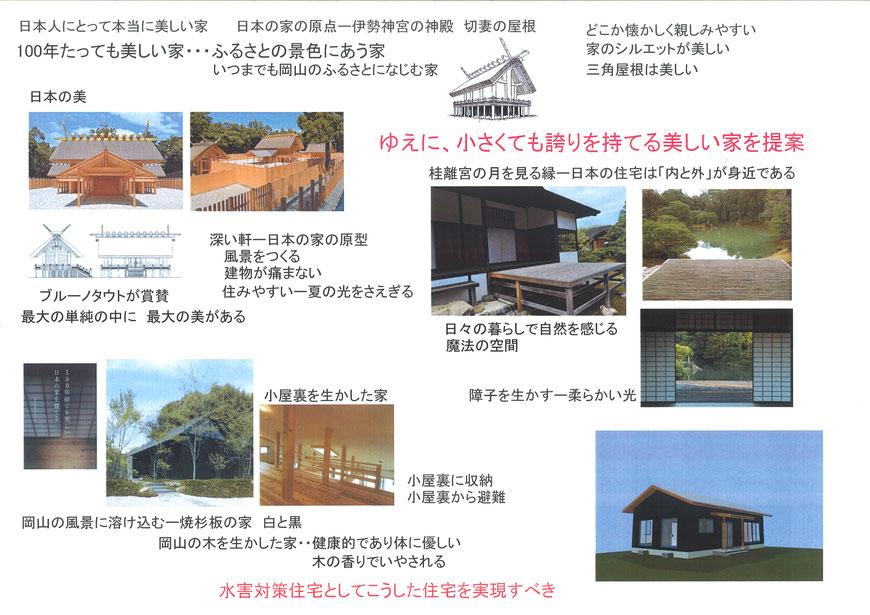 水害復興住宅の考え方