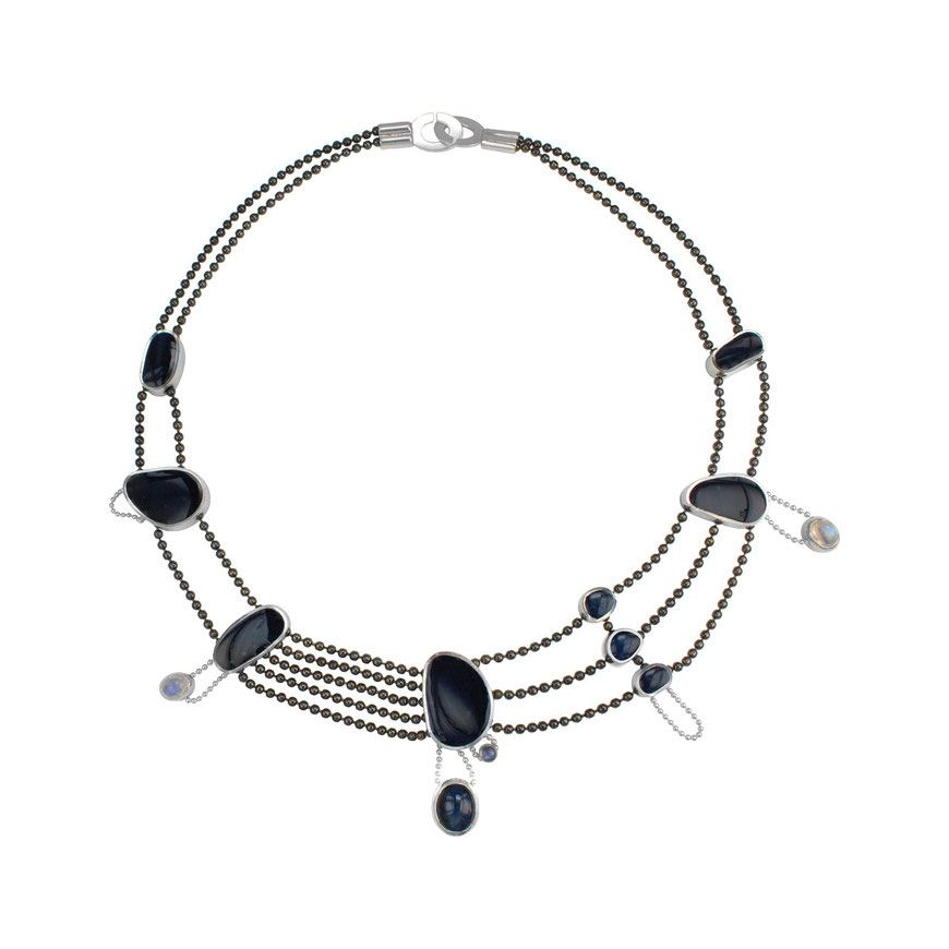 Gate Necklace by Alexis Kostuk