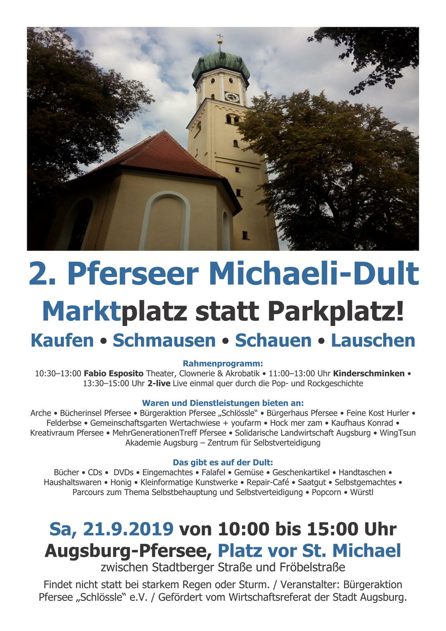 2 Pfersee Michaeli-Dult - Selbstverteidigung Augsburg