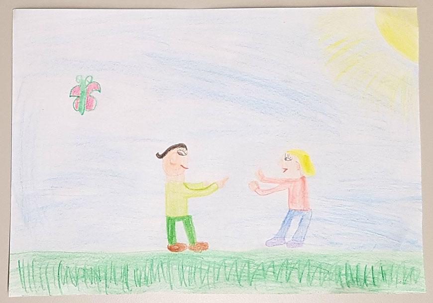 Kinder Selbstverteidigung Augsburg Malwettbewerb Zivilcourage