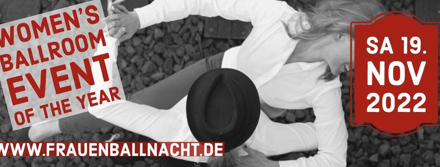 Flyer Frauenballnacht (Pic by Karla Pixeljäger)