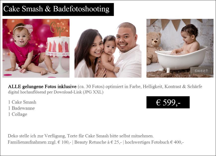 Cake Smash Fotoshooting Wien Preise