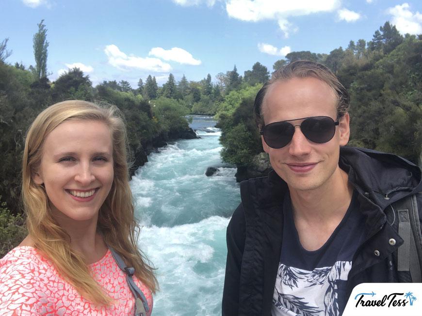 Huka Falls waterval