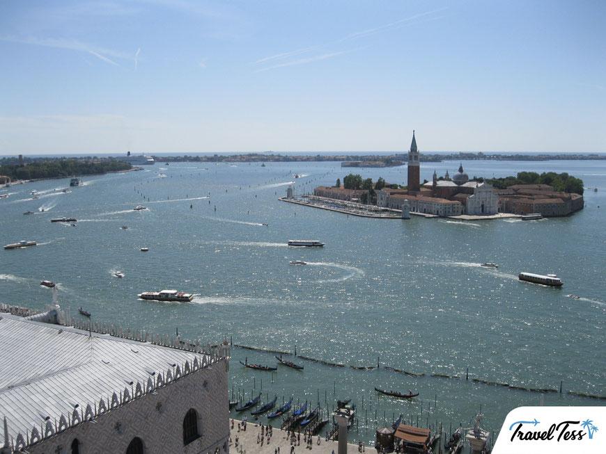 Uitzicht over Venetië