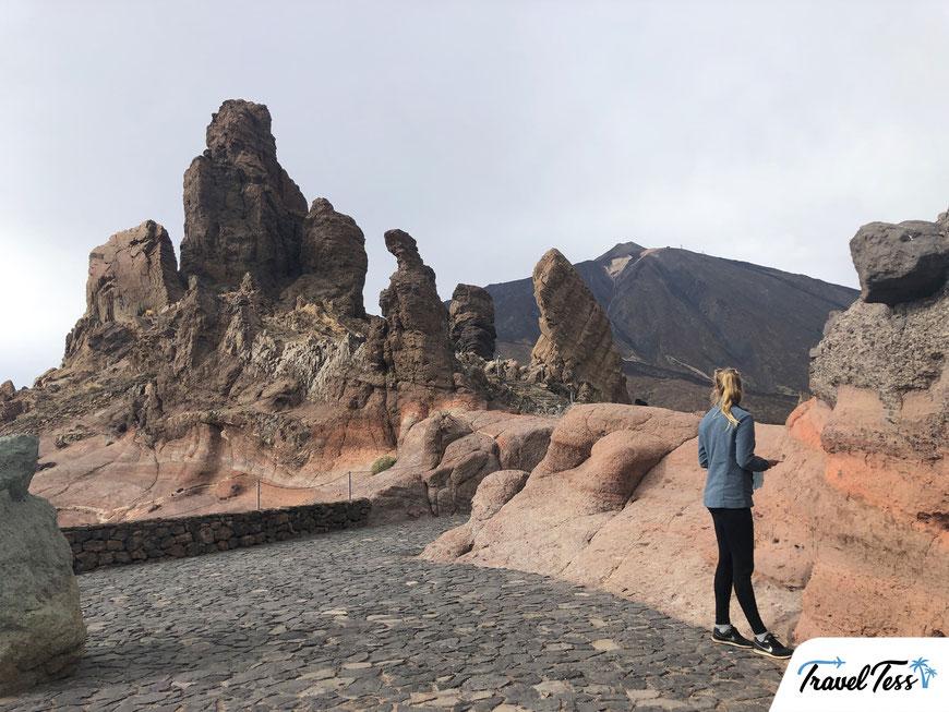Bijzondere rotsformatie El Teide National Park