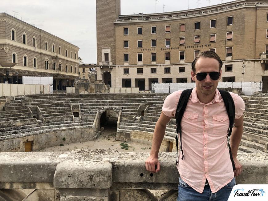 Amfitheater Lecce Piazza Sant'Oronzo