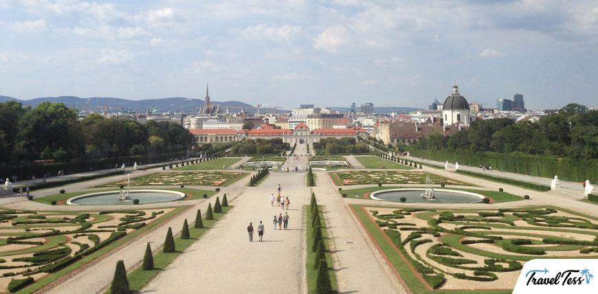 Belverde tuin Wenen