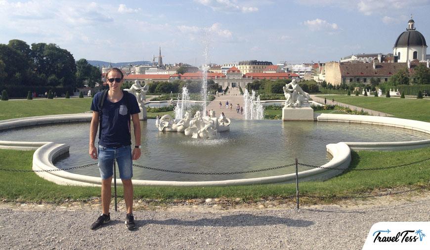 Belverde paleis Wenen