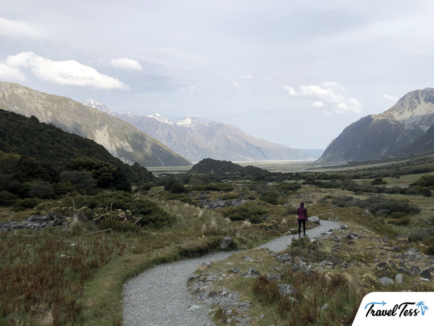 Kea Point Walk Mount Cook National Park