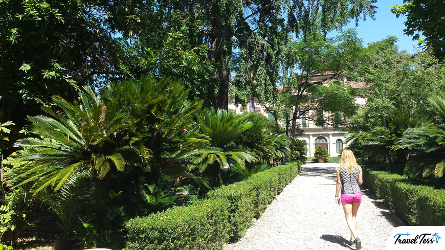 Botanische tuin Pisa