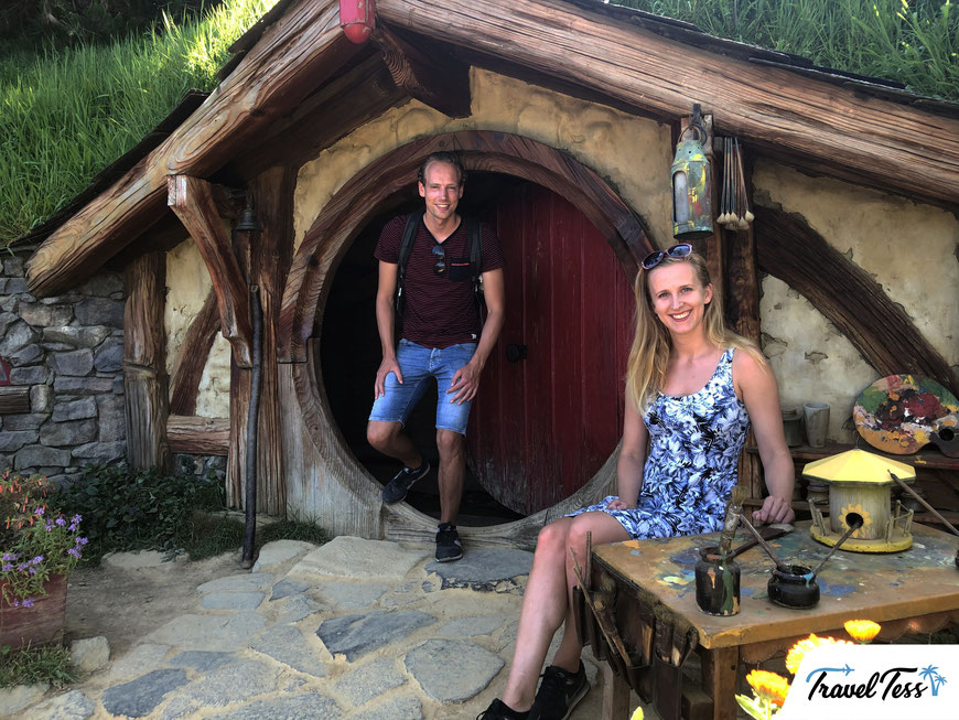 Bilbo Baggins Hobbit huis