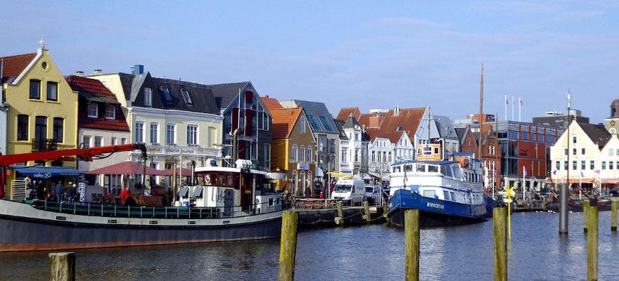 Husumer Hafen Christas Haus