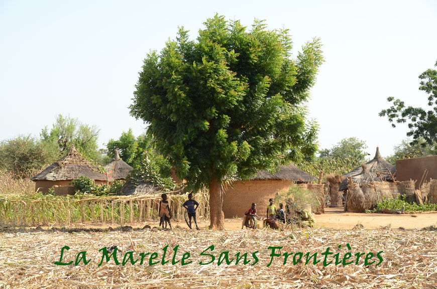 Tansablogo village de brousse au Burkina Faso