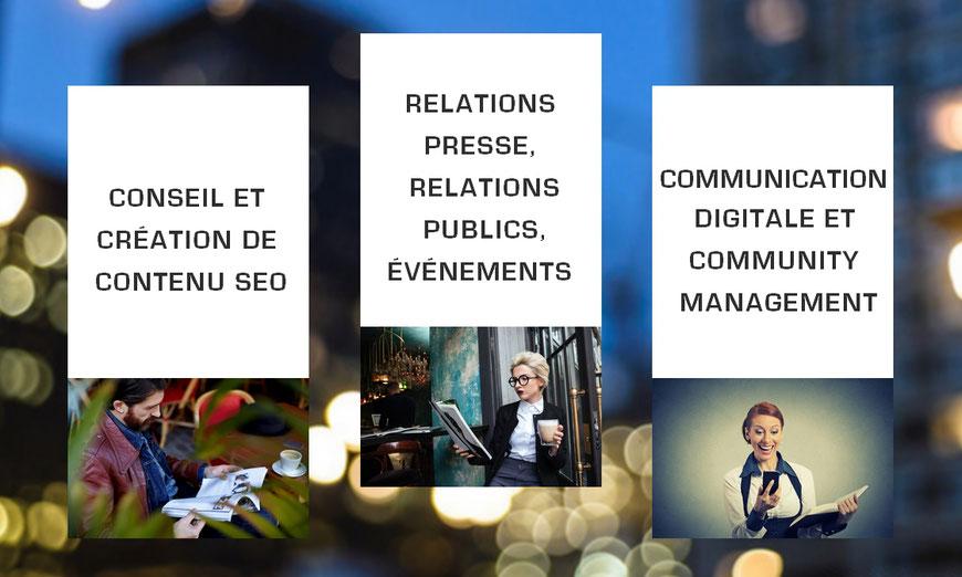 Prestations RP3.0 de l'agence de relations presse Amsterdam Communication.