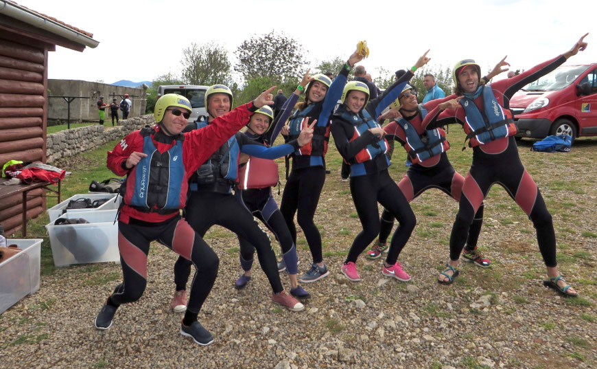Plaustų varžybos Zrmanjos upėje - Zadar Outdoor festival