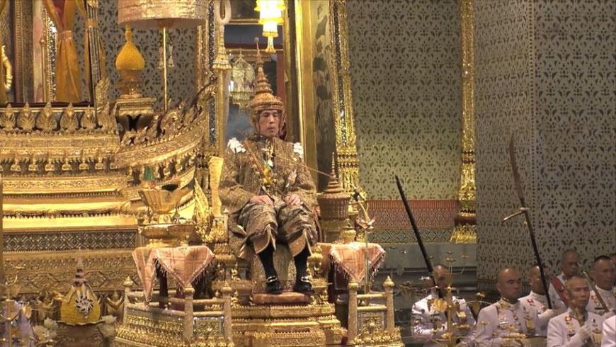 Karūnuojamas Karalius Maha Vajiralongkornas